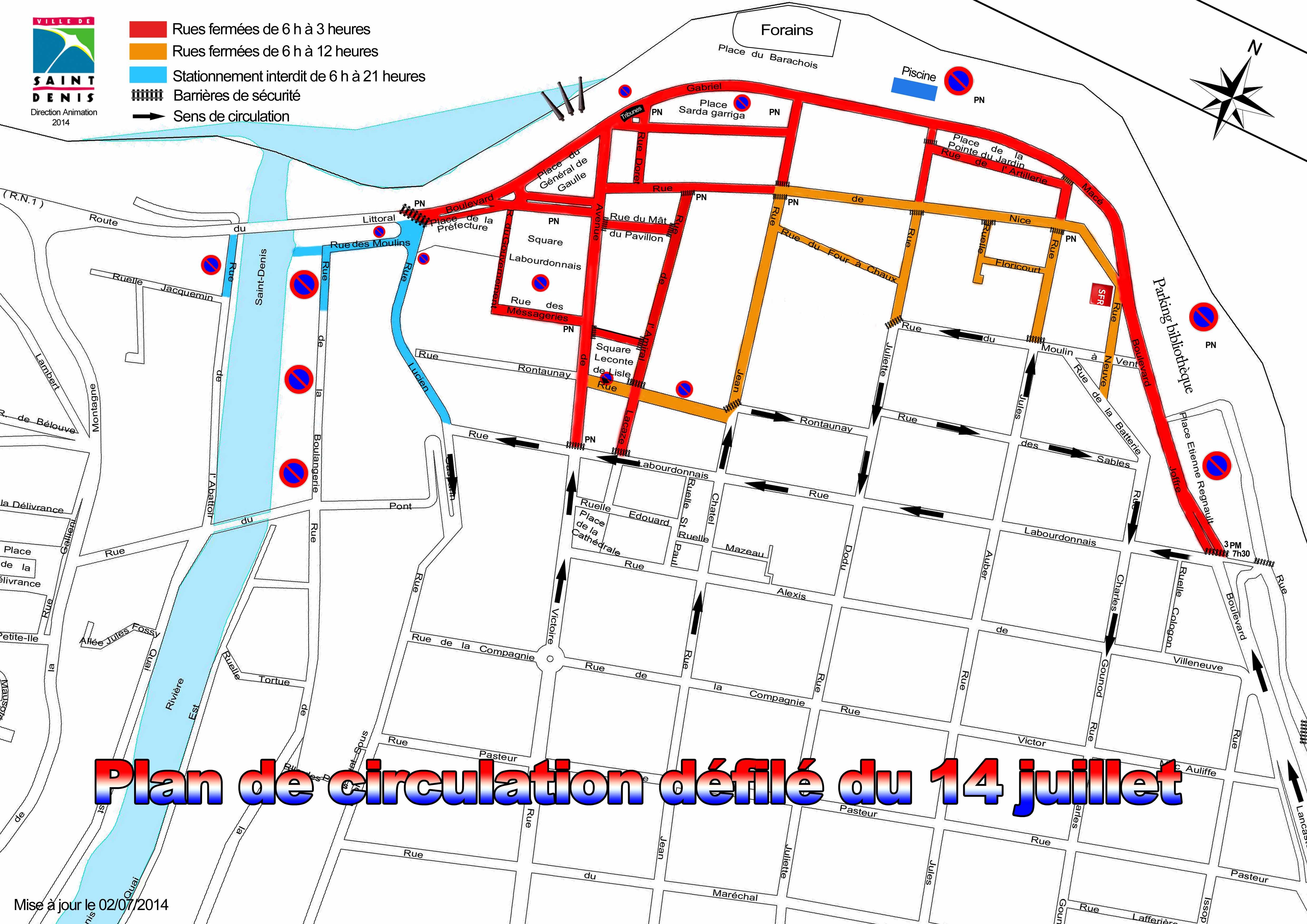 le 14 juillet 224 denis feux d artifices et animations au barachois ville de